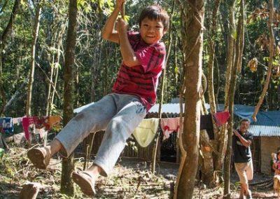 Participação em Brincadeiras e Jogos Guaranis